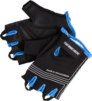 NAKAMURA Prime wielerhandschoenen Zwart
