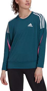 adidas Sportswear Lichtgewicht Sweatshirt Dames Blauw
