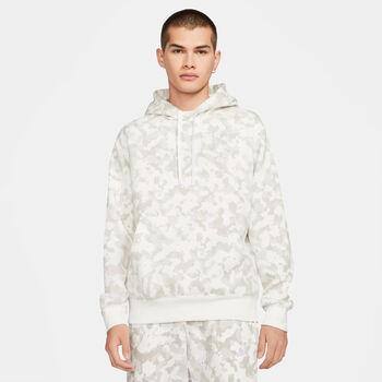 Nike Sportswear Club hoodie Heren Wit