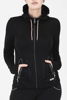 Sjeng Sports Debbie hoodie Dames Zwart