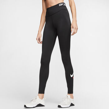 Nike One Iconclash tight Dames Zwart