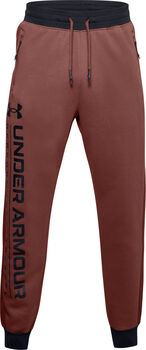 Under Armour Rival Fleece AMP joggingsbroek Heren Rood