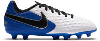 Nike Tiempo Legend 8 Club MG kids voetbalschoenen Jongens Wit