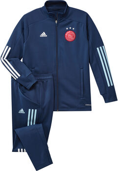 adidas Ajax trainingspak kids 2020/2021 Jongens Blauw