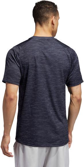 FreeLift Tech Fitted Gestreept Gemêleerd T-shirt