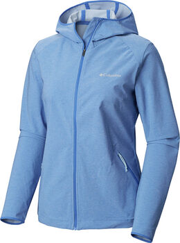 Columbia Heather Canyon Softshell jack Dames Bruin