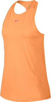 Nike Pro shirt Dames Oranje