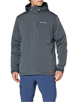 Columbia Gate Racer Heather Softshell jack Heren Grijs