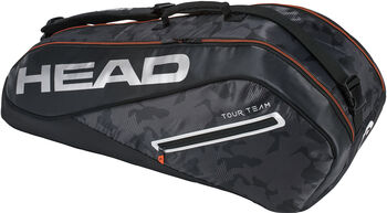 Head Tour Team 6R Combi tennistas Zwart