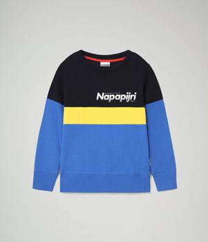 Napapijri Baloy kids sweater Jongens Blauw