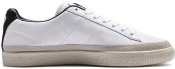 Puma Basket Trim sneakers Heren Wit