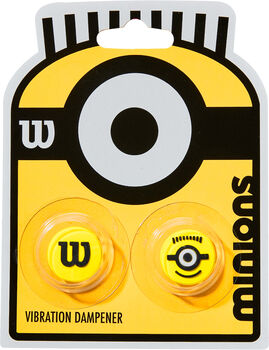 Wilson Minions Vibration 2-pack dempers Geel