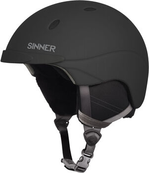 Sinner Titan skihelm Zwart