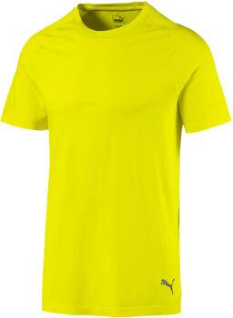 Puma Energy Seamless shirt Heren Geel