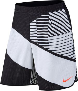 Nike Court Flex Tennis short Heren Wit