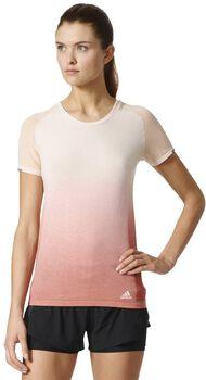 Adidas Primeknit Wool Dip-Dye shirt Dames Wit
