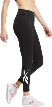 Reebok Classics Vector legging Dames Zwart