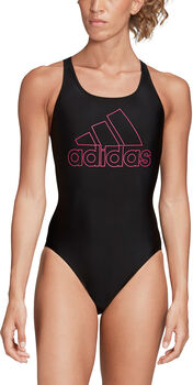 ADIDAS Athly V Logo badpak Dames Zwart