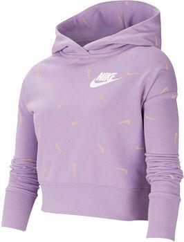 Nike Sportswear kids hoodie  Meisjes Paars