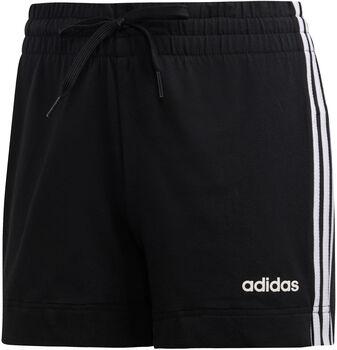 adidas Essentials 3-Stripes short Dames Zwart