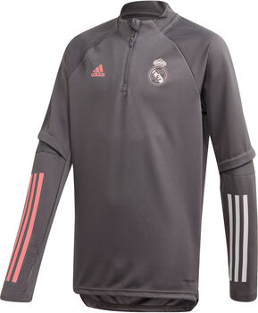 adidas Real Madrid Training Longsleeve kids shirt 20/21 Jongens Grijs