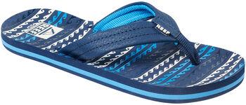 Reef Ahi Kids slippers Jongens Blauw