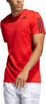 adidas Primeblue AEROREADY 3-Stripes Slim-fit T-shirt Heren Rood