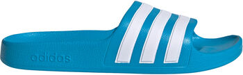 adidas Adilette Aqua kids badslippers Blauw