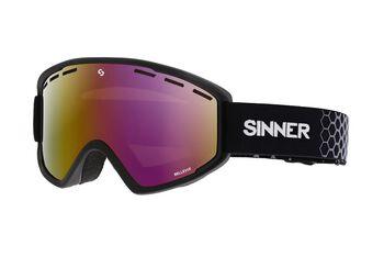 Sinner Bellevue skibril Zwart