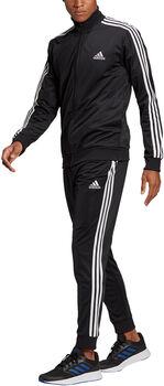 adidas Primegreen Essentials 3-Stripes trainingspak Heren Zwart