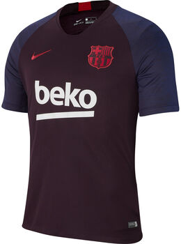 Nike FC Barcelona Breathe Strike shirt Heren Rood