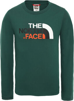 The North Face Easy longsleeve Jongens Groen
