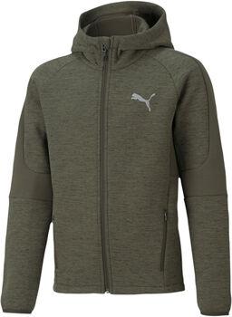 Puma Evostripe Full-Zip hoodie Jongens Groen
