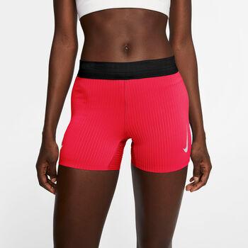 Nike AeroSwift short Dames Rood