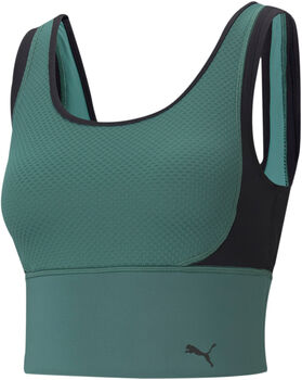 Puma Train Fitted Crop top Dames Rood