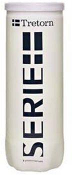 Tretorn Serie+ 3-tube tennisballen Geel