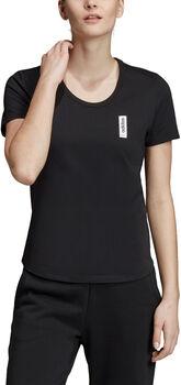 ADIDAS Brilliant Basics T-shirt Dames Zwart