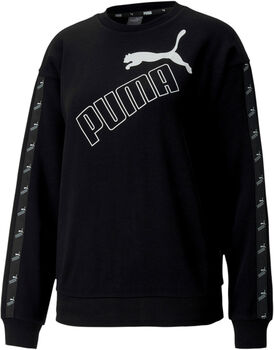 Puma Amplified crew Dames Zwart