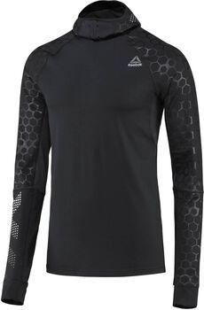Reebok Hexawarm Reflective Scuba hoodie Heren Zwart