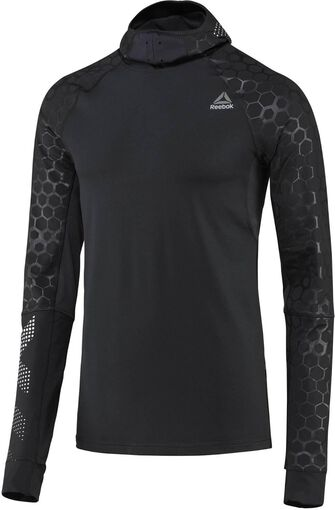 Hexawarm Reflective Scuba hoodie