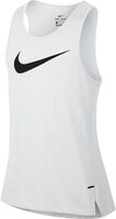 Nike Dry Elite Basketbal hemd Heren Wit