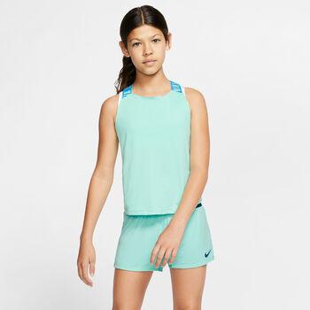 Nike Dry Elastika top Meisjes Groen