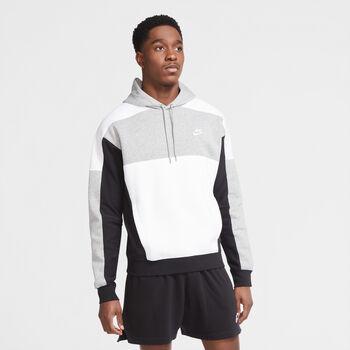 Nike Sportswear Club Pullover hoodie Heren Grijs