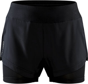 Craft ADV Essence 2-in-1 short W Dames Zwart