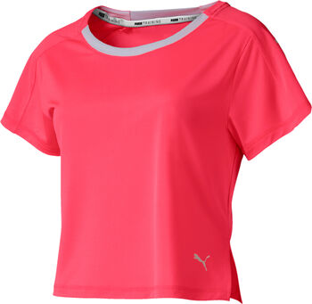 Puma Logo Graphic shirt Dames Roze