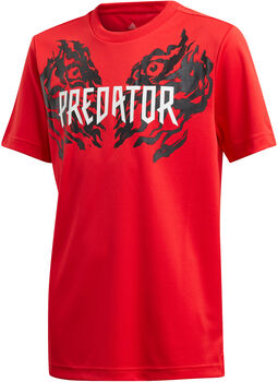 ADIDAS Predator Graphic shirt Jongens Rood