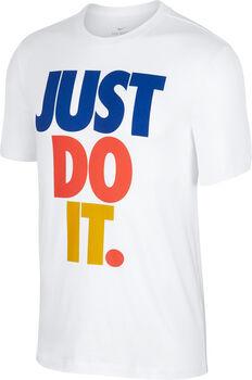 Nike Sportswaer Just Do It shirt Heren Wit