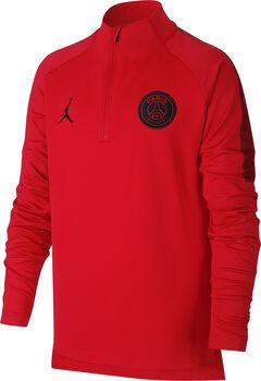 Nike Paris Saint-Germain Dry Squad jr longsleeve Jongens Rood