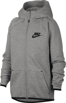 Nike Sportswear Tech Fleece hoodie Jongens Grijs