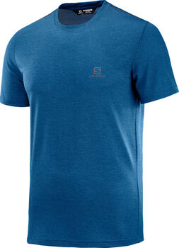 Salomon Explore Pique shirt Heren Blauw